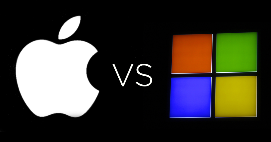 apple vs microsoft essay The microsoft company is most well known for their os, or operating system, microsoft windows and the microsoft office applications, such as microsoft word and powerpoint in the software market, apple has produced the ilife creativity and ios phones.