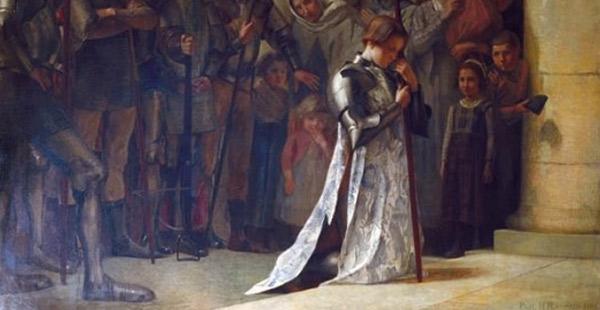 Juana de Arco: las voces que oía, de donde provenían?