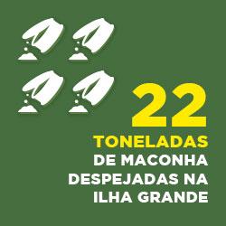 334 latas escondidas em uma mansão em Angra. 1 caseiro foi preso