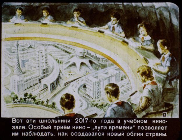 Como os soviéticos  do século passado imaginavam o centenário da Revolução Russa - 1