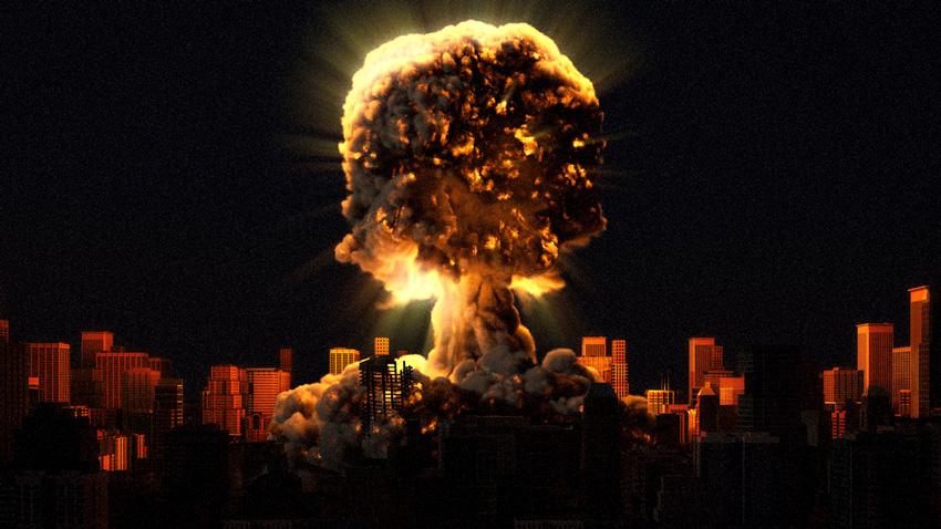 Resultado de imagen para que hacer con su familia ante explosión nuclear