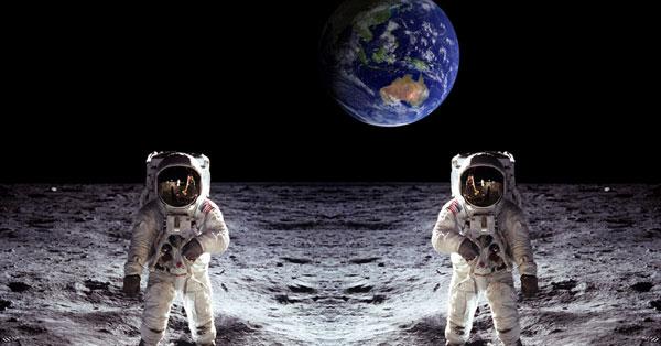 Estados Unidos vuelve a la Luna y establecerá una base para viajar a Marte