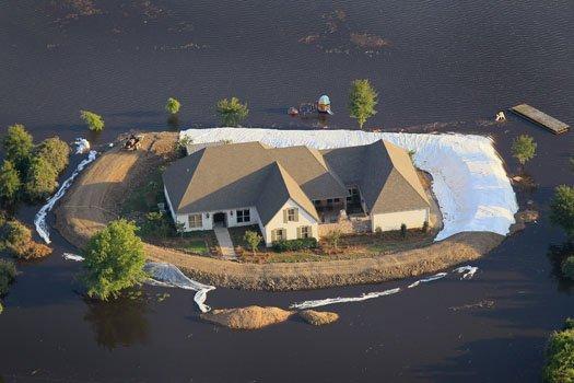 Mustang Island Home Damage