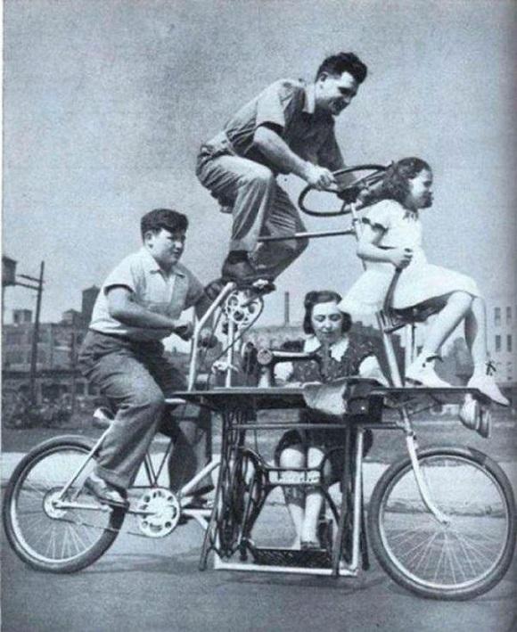 Bicicleta familiar