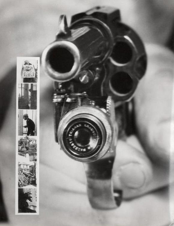 Revólver com câmera