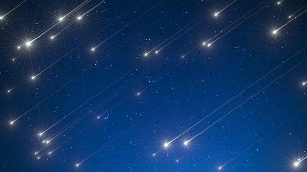 Resultado de imagem para chuva de estrelas