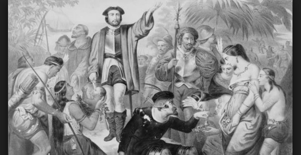 Crist bal col n fund santa mar a de bel n history channel for Cuarto viaje de cristobal colon