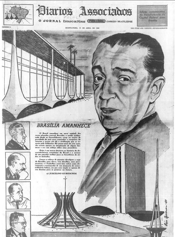 Principais jornais exaltavam inauguração de Brasília - 1