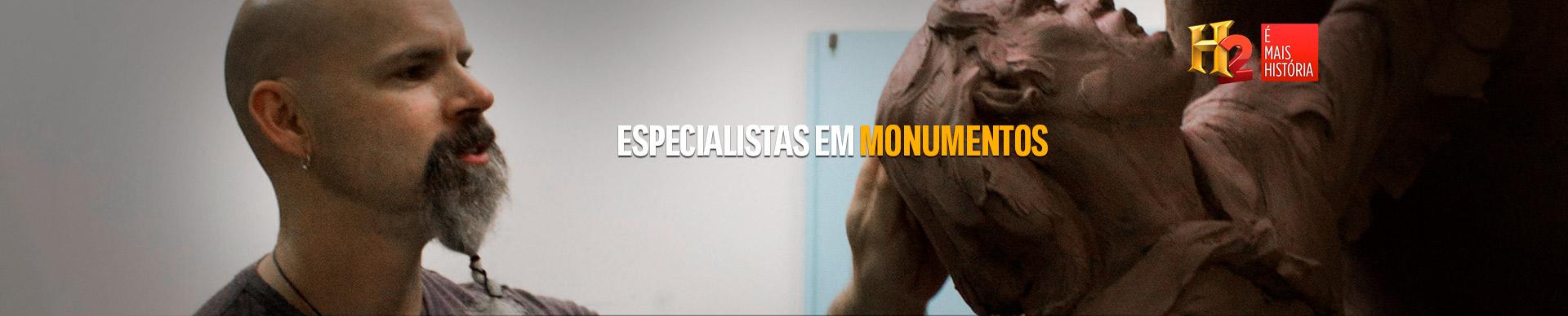 ESPECIALISTAS EM MONUMENTOS