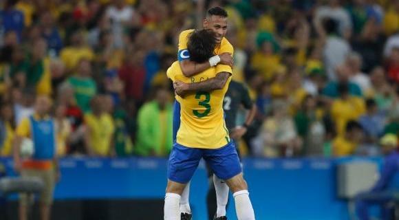 448a553158 Brasil conquista inédito ouro olímpico no futebol nos Jogos do Rio de  Janeiro