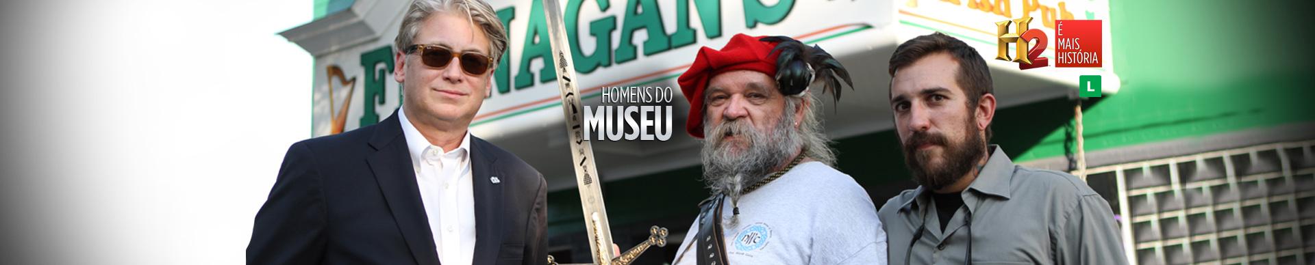 HOMENS DO MUSEU