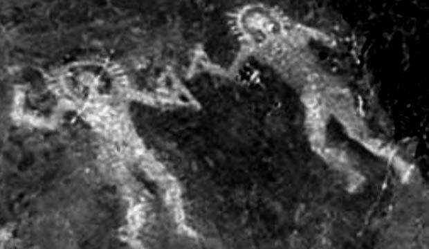 Inscriçao rupestre