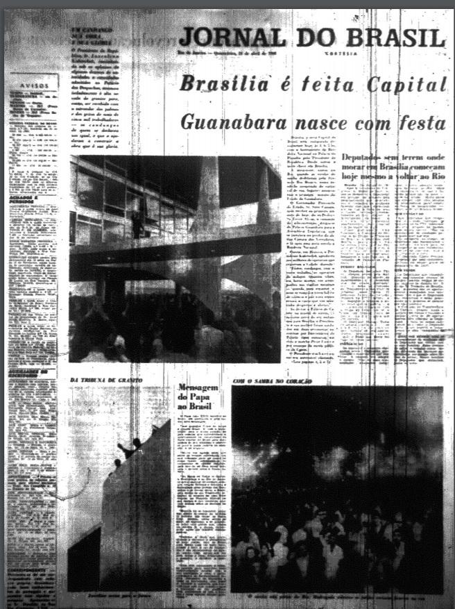 Principais jornais exaltavam inauguração de Brasília - 7