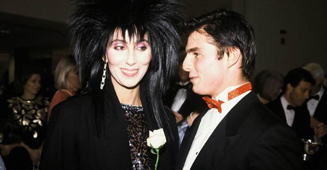 Cher e Tom Cruise