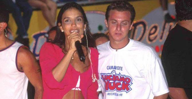 Luciano Huck e Ivete Santalo