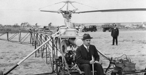 invencion helicoptero