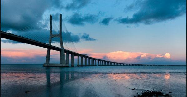 Resultado de imagen para Fue inaugurado Vasco de Gama puente más largo de Europa