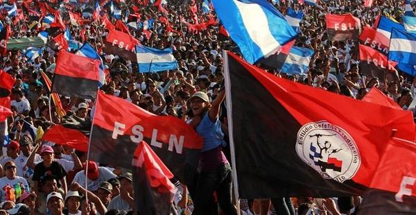 Resultado de imagen para frente sandinista de liberacion nacional en nicaragua