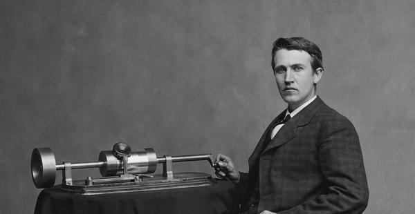 Thomas Edison inventó el fonógrafo   History Channel